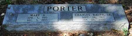 PORTER, SR., CHARLES RALPH - Garland County, Arkansas | CHARLES RALPH PORTER, SR. - Arkansas Gravestone Photos