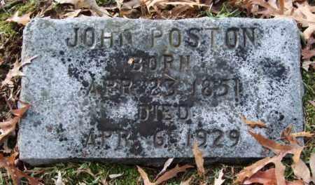 POSTON, JOHN - Garland County, Arkansas | JOHN POSTON - Arkansas Gravestone Photos