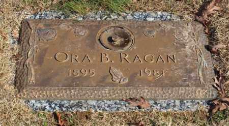 PLUMLEY RAGAN, ORA B - Garland County, Arkansas | ORA B PLUMLEY RAGAN - Arkansas Gravestone Photos