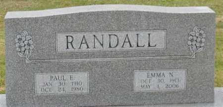 RANDALL, PAUL E. - Garland County, Arkansas | PAUL E. RANDALL - Arkansas Gravestone Photos