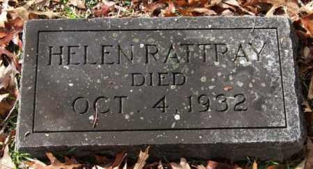 RATTRAY, HELEN - Garland County, Arkansas | HELEN RATTRAY - Arkansas Gravestone Photos