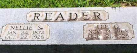 READER, LEE G. - Garland County, Arkansas | LEE G. READER - Arkansas Gravestone Photos