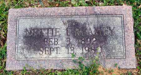 REAMEY, NETTIE I. - Garland County, Arkansas | NETTIE I. REAMEY - Arkansas Gravestone Photos