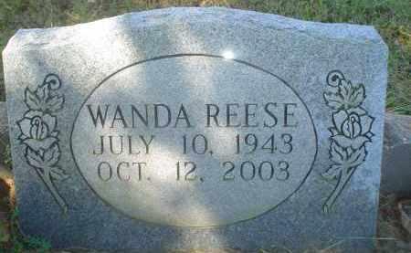 REESE, WANDA - Garland County, Arkansas   WANDA REESE - Arkansas Gravestone Photos