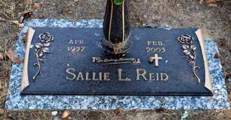REID, SALLIE L. - Garland County, Arkansas | SALLIE L. REID - Arkansas Gravestone Photos