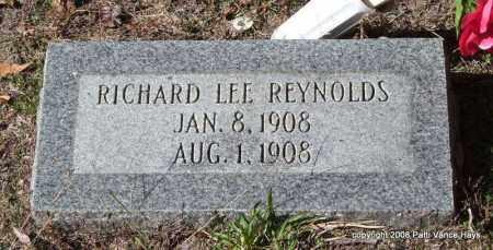 REYNOLDS, RICHARD LEE - Garland County, Arkansas | RICHARD LEE REYNOLDS - Arkansas Gravestone Photos