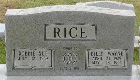 RICE, BILLY WAYNE - Garland County, Arkansas | BILLY WAYNE RICE - Arkansas Gravestone Photos