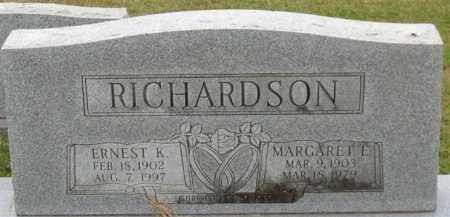 RICHARDSON, ERNEST K. - Garland County, Arkansas | ERNEST K. RICHARDSON - Arkansas Gravestone Photos
