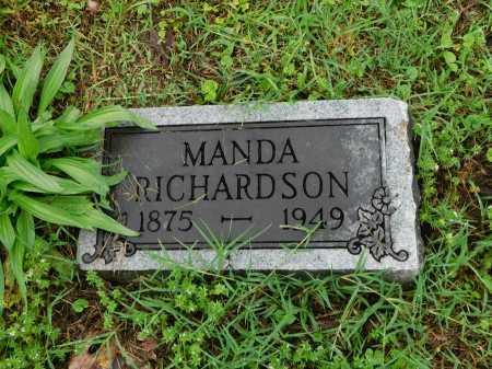 RICHARDSON, MANDA - Garland County, Arkansas | MANDA RICHARDSON - Arkansas Gravestone Photos