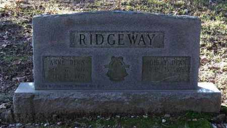 RIDGEWAY, ROBERT DEAN - Garland County, Arkansas | ROBERT DEAN RIDGEWAY - Arkansas Gravestone Photos