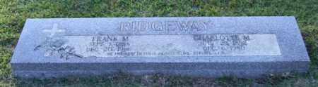 RIDGEWAY, FRANK M. - Garland County, Arkansas | FRANK M. RIDGEWAY - Arkansas Gravestone Photos