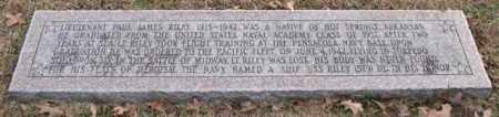 RILEY (VETERAN WWII), PAUL JAMES - Garland County, Arkansas | PAUL JAMES RILEY (VETERAN WWII) - Arkansas Gravestone Photos