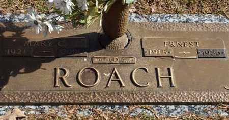 ROACH, MARY C. - Garland County, Arkansas   MARY C. ROACH - Arkansas Gravestone Photos