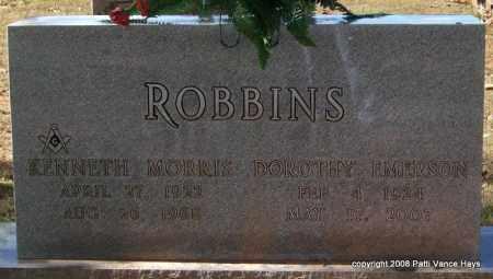 EMERSON ROBBINS, DOROTHY - Garland County, Arkansas | DOROTHY EMERSON ROBBINS - Arkansas Gravestone Photos
