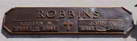 ROBBINS, LILLIAN MARIE - Garland County, Arkansas | LILLIAN MARIE ROBBINS - Arkansas Gravestone Photos