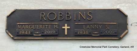 ROBBINS, LANNY S - Garland County, Arkansas   LANNY S ROBBINS - Arkansas Gravestone Photos
