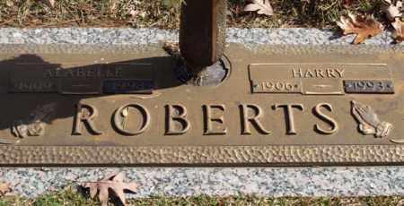 ROBERTS, ALABELLE - Garland County, Arkansas | ALABELLE ROBERTS - Arkansas Gravestone Photos
