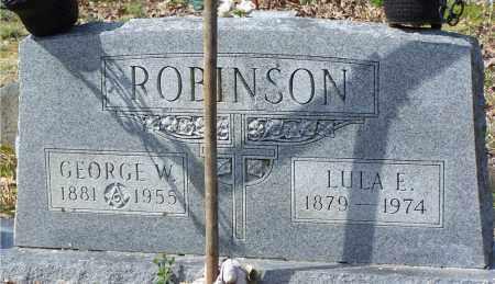ROBINSON, LULA E. - Garland County, Arkansas   LULA E. ROBINSON - Arkansas Gravestone Photos