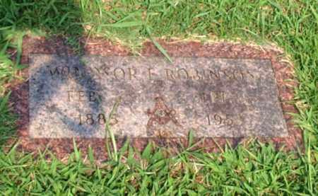 ROBINSON, WINDSOR E. - Garland County, Arkansas   WINDSOR E. ROBINSON - Arkansas Gravestone Photos