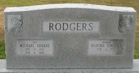 RODGERS, MICHAEL EUGENE - Garland County, Arkansas | MICHAEL EUGENE RODGERS - Arkansas Gravestone Photos