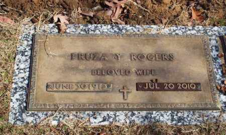 ROGERS (OBIT), FRUZA - Garland County, Arkansas   FRUZA ROGERS (OBIT) - Arkansas Gravestone Photos