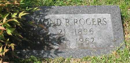 ROGERS, RAYMOND D. - Garland County, Arkansas | RAYMOND D. ROGERS - Arkansas Gravestone Photos