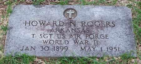 ROGERS (VETERAN WWII), HOWARD N. - Garland County, Arkansas | HOWARD N. ROGERS (VETERAN WWII) - Arkansas Gravestone Photos