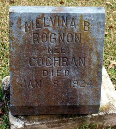 ROGNON, MELVINA B. - Garland County, Arkansas | MELVINA B. ROGNON - Arkansas Gravestone Photos