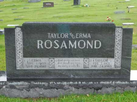 ROSAMOND, ERMA - Garland County, Arkansas | ERMA ROSAMOND - Arkansas Gravestone Photos
