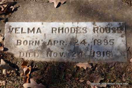 ROUSE, VELMA - Garland County, Arkansas | VELMA ROUSE - Arkansas Gravestone Photos