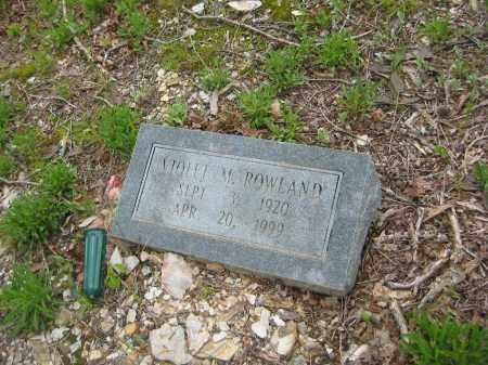ROWLAND, VIOLET M. - Garland County, Arkansas | VIOLET M. ROWLAND - Arkansas Gravestone Photos