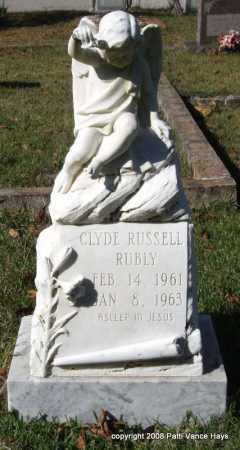 RUBLY, CLYDE RUSSELL - Garland County, Arkansas | CLYDE RUSSELL RUBLY - Arkansas Gravestone Photos