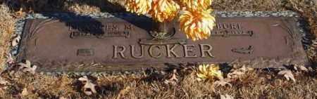 RUCKER, H. BURL - Garland County, Arkansas   H. BURL RUCKER - Arkansas Gravestone Photos
