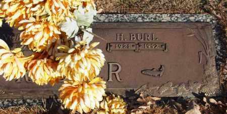 RUCKER, H. BURL (CLOSE UP) - Garland County, Arkansas | H. BURL (CLOSE UP) RUCKER - Arkansas Gravestone Photos