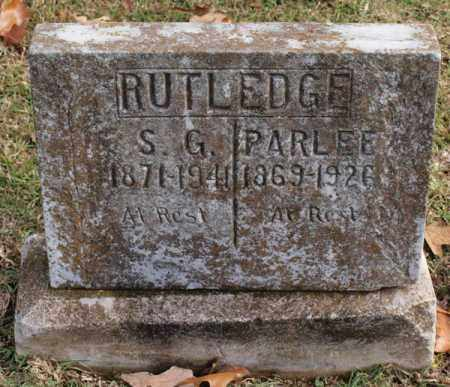 RUTLEDGE, SIMON G. - Garland County, Arkansas | SIMON G. RUTLEDGE - Arkansas Gravestone Photos