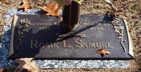 SAMUEL, ROSIE L - Garland County, Arkansas | ROSIE L SAMUEL - Arkansas Gravestone Photos