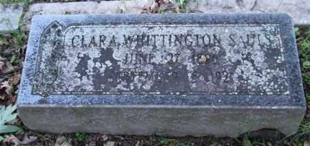 WHITTINGTON SAULS, CLARA - Garland County, Arkansas | CLARA WHITTINGTON SAULS - Arkansas Gravestone Photos