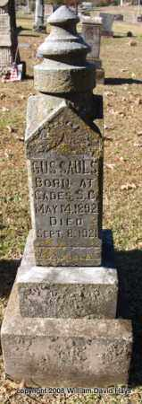 SAULS, GUS - Garland County, Arkansas | GUS SAULS - Arkansas Gravestone Photos