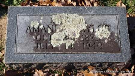 SAYLOR, AMANDA - Garland County, Arkansas   AMANDA SAYLOR - Arkansas Gravestone Photos