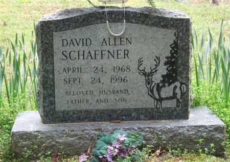 SCHAFFNER, DAVID ALLEN - Garland County, Arkansas | DAVID ALLEN SCHAFFNER - Arkansas Gravestone Photos