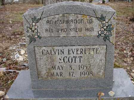 SCOTT, CALVIN EVERETTE - Garland County, Arkansas   CALVIN EVERETTE SCOTT - Arkansas Gravestone Photos