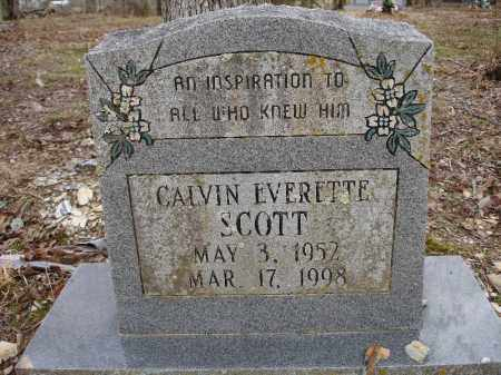 SCOTT, CALVIN EVERETTE - Garland County, Arkansas | CALVIN EVERETTE SCOTT - Arkansas Gravestone Photos