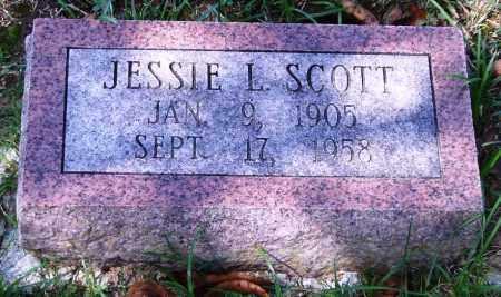 SCOTT, JESSIE L. - Garland County, Arkansas | JESSIE L. SCOTT - Arkansas Gravestone Photos