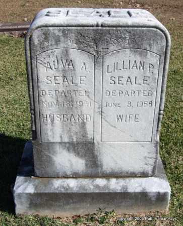 SEALE, LILLIAN P. - Garland County, Arkansas | LILLIAN P. SEALE - Arkansas Gravestone Photos