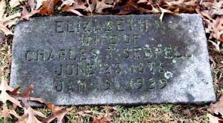 SEBRELL, ELIZABETH M. - Garland County, Arkansas   ELIZABETH M. SEBRELL - Arkansas Gravestone Photos