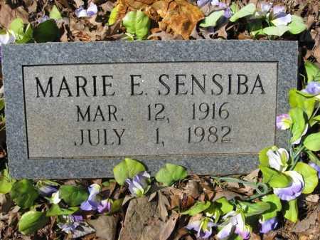 SENSIBA, MARIE E. - Garland County, Arkansas   MARIE E. SENSIBA - Arkansas Gravestone Photos