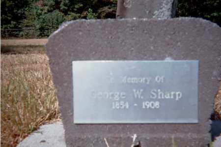 SHARP, GEORGE WASHINGTON - Garland County, Arkansas | GEORGE WASHINGTON SHARP - Arkansas Gravestone Photos