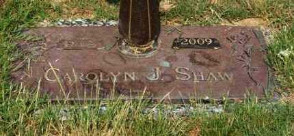 SHAW, CAROLYN J - Garland County, Arkansas | CAROLYN J SHAW - Arkansas Gravestone Photos