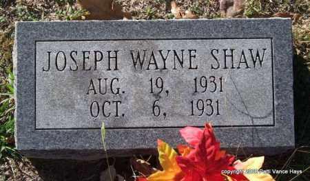 SHAW, JOSEPH WAYNE - Garland County, Arkansas | JOSEPH WAYNE SHAW - Arkansas Gravestone Photos