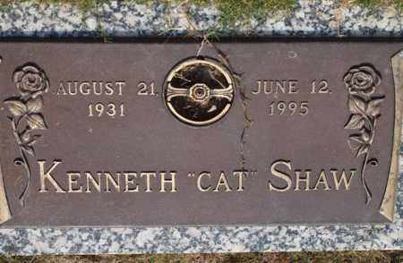 "SHAW, KENNETH ""CAT"" - Garland County, Arkansas 